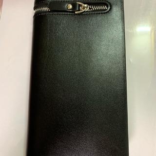 【新品未使用】長財布 カード収納12枚可 黒