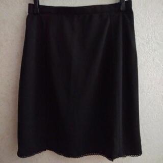 スカート黒