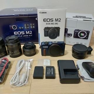 Canon EOS M2 トリプルレンズキット