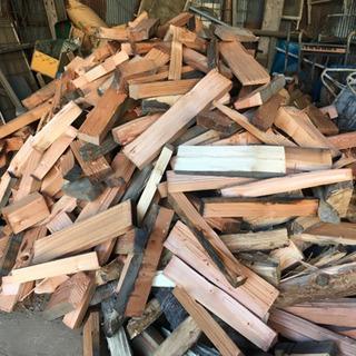 薪ストーブの薪(針葉樹)