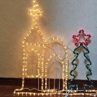 クリスマスイルミネーション(教会)