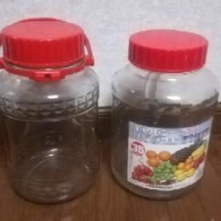 果実酒瓶4L ×2