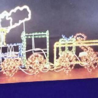 クリスマスイルミネーション(汽車)