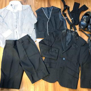 卒園式、入学式 男児スーツ靴セット