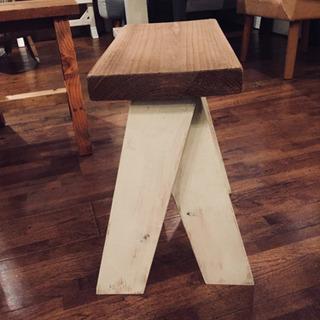 足場板で作った椅子 コンパクトサイズ