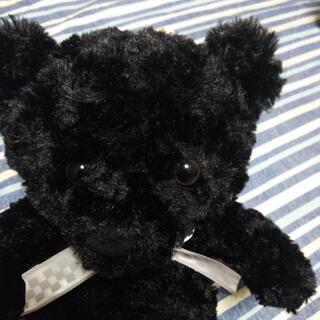 黒いクマちゃん新品①値下げ