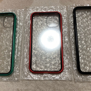 両面ガラス マグネット式 簡単脱着 強化ガラス アルミバンパー ...