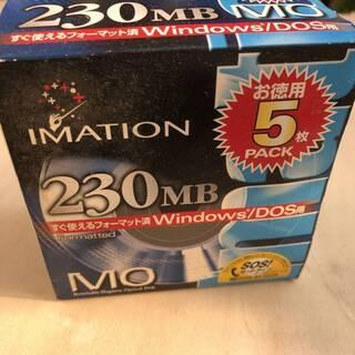 イメーション 230MB MO WINDOWS フォーマットの画像