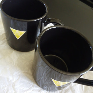 未使用 マグカップ&トレイ