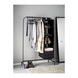 IKEA ハンガーラック 黒