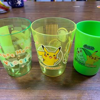 ポケモンプラスチックコップ3個未使用