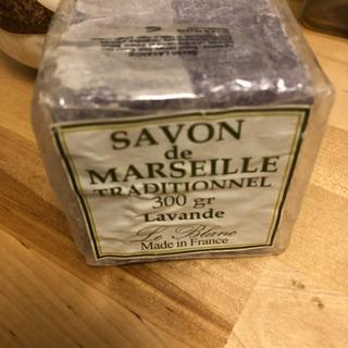 ル・ブラン社製★マルセイユ石鹸300gラベンダー