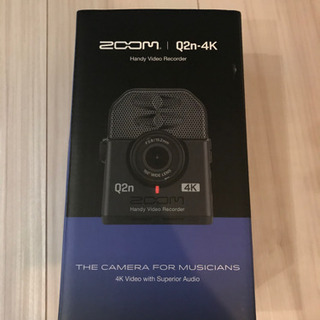Q2n-4K ZOOM 4K対応高画質ムービーカメラ