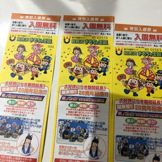 軽井沢 おもちゃ王国入園無料券
