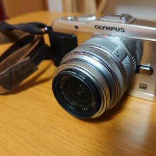 ミラーレス一眼カメラオリンパスペンep-3