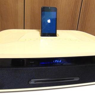良音!スタイリッシュ!ONKYO CDアンプシステム iPod専...