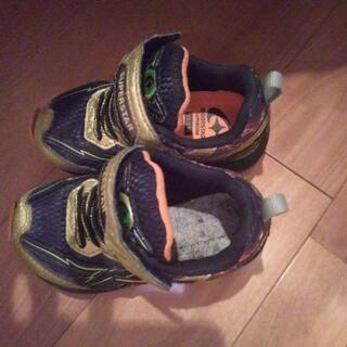 男の子 靴 15cmEE 中古