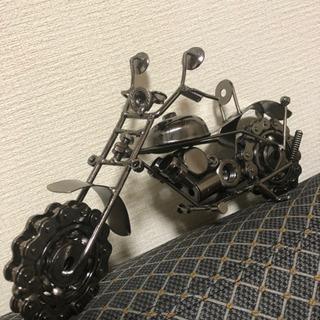 【ブリキ製】手作りオートバイ