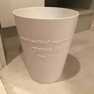 ゴミ箱(白)
