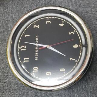 ☆激安 壁掛け時計 ネオン ウォール クロック