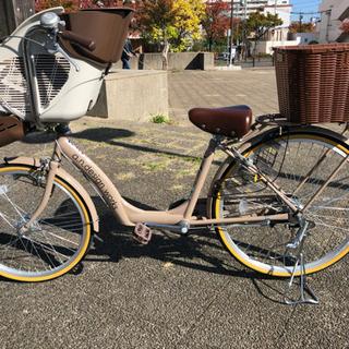 超美品☆ 子供乗せ付き自転車