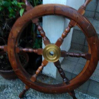 値下げ  舵輪 インテリア ラット舵 ガーデニング