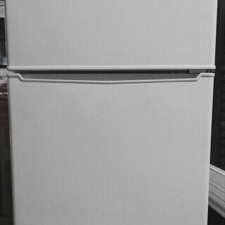 アマダナ 2ドア冷蔵庫 86L AT-HR11-W ホワイト a...