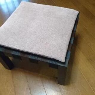 ❇️大幅値下げ 椅子 クッションつき ① ローチェア 木製