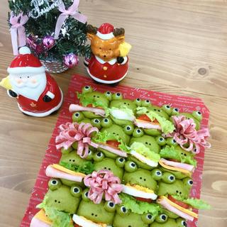 【パン教室FUTABA】12月レッスン カエルのパーティーちぎり...