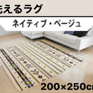 洗えるラグ 200×250cm