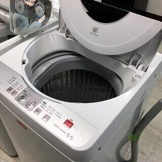 シャープ5.5K洗濯機Ag+イオンコート分解クリーニング済み!!!