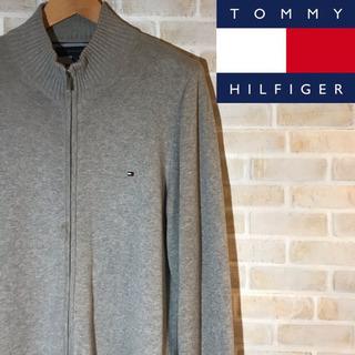 Tommy トミーヒルフィガー ジップアップニットセーター