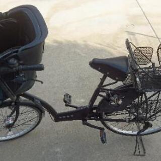 子供専用乗せ自転車