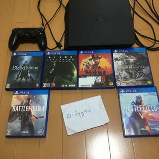 PS4本体、PS4ソフトのセット・バラ売りやすく売ります!