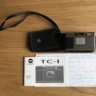 【MINOLTA TC-1】チタン製コンパクトフィルムカメラ