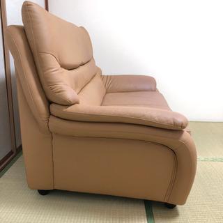 合成皮革?のソファーです。 − 大阪府
