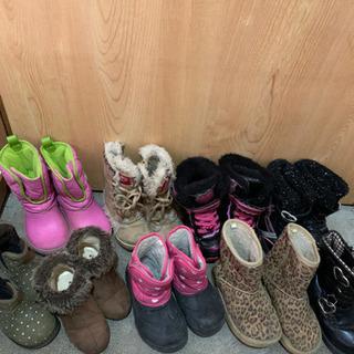 女の子ブーツ