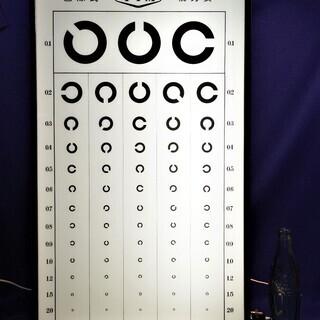 ランドルト環(視力検査)装置 ライトボックス インテリア照明 壁灯