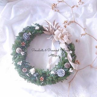 クリスマスリースレッスン