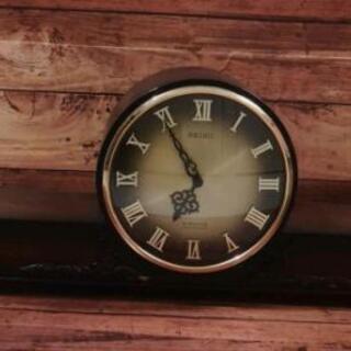 ¥2,500) 昭和レトロ セイコー置時計 動作未確認 引取限定...
