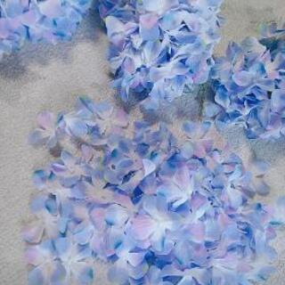 ハンドメイド  インテリア 紫陽花 造花