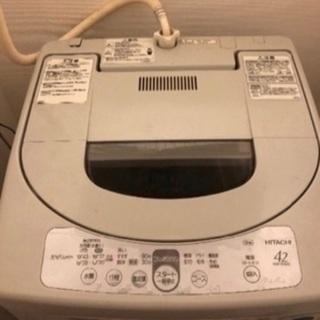 日立洗濯機 無料で差し上げます。
