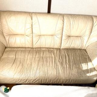 3人掛けソファーおまけクッションマットレス