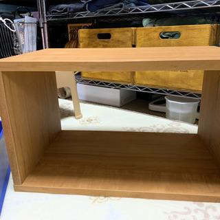 木製マルチBOX&プラスチック収納ケース  お値下げしました!