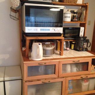 自作の食器棚