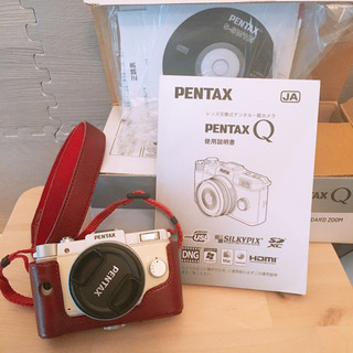【SOLD】PENTAX Q 中古品 純正レンズとストラップ付き