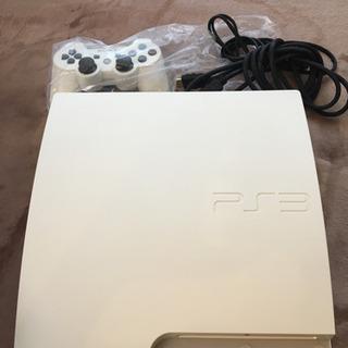PS3 160GB ホワイト コントローラー有