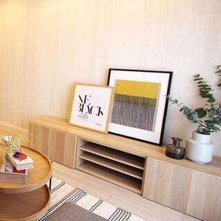 IKEA テレビ台 木製 ナチュラル カラー