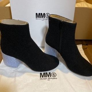 【新品未使用】マルジェラ メタルヒール ショートブーツ - 靴/バッグ