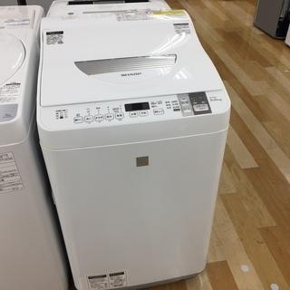 安心の1年保証付!2017年製 SHARPの縦型洗濯乾燥機【トレ...